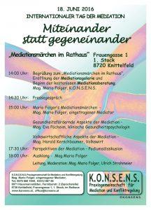 Plakat Programm Knittelfeld